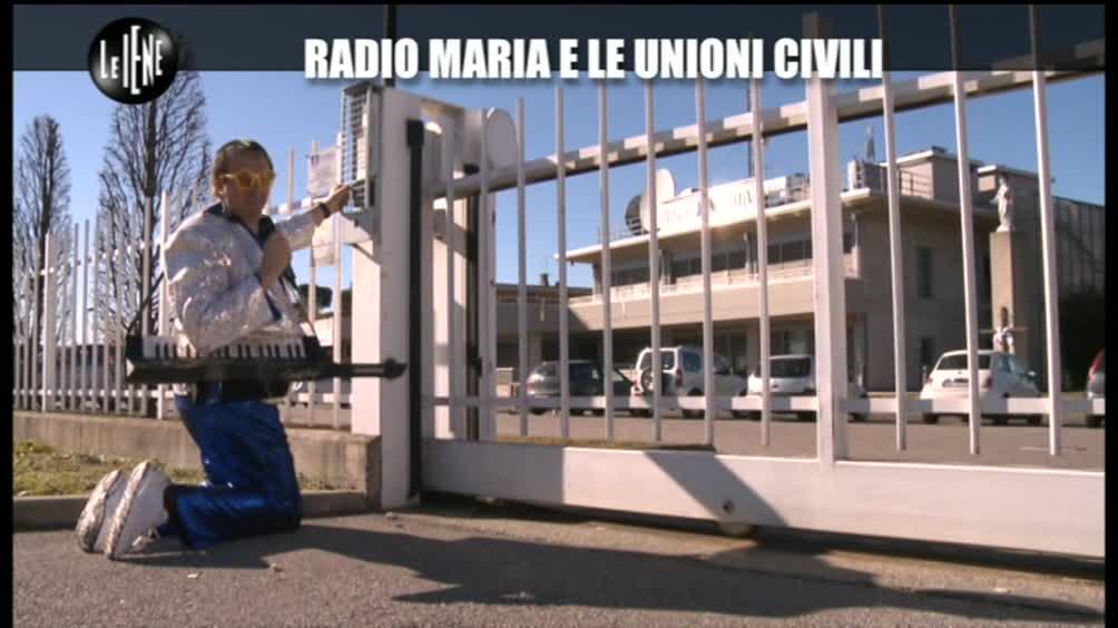 Casciari: radio Maria e le unioni civili