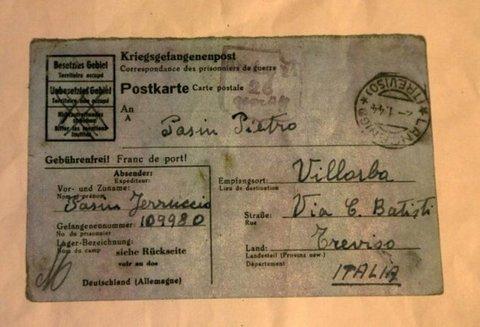 La lettera arrivata 72 anni dopo dal campo di concentramento