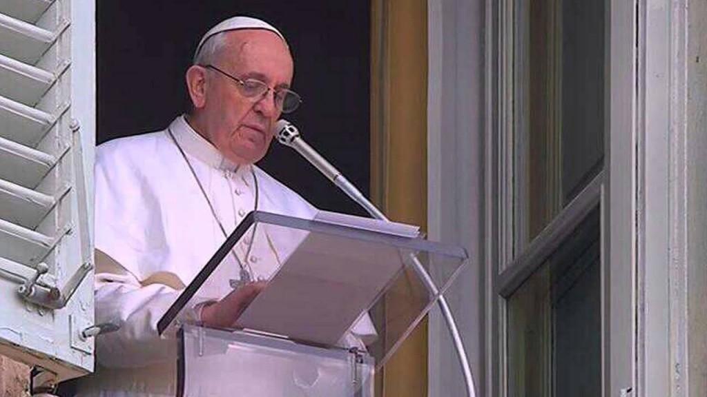 Papa Francesco appello oggi all'angelus