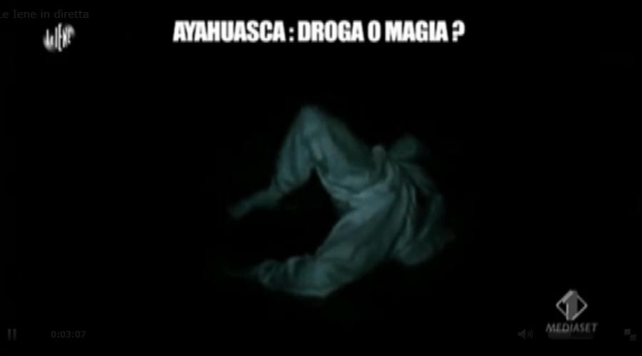Ruggieri, ayauhasca, droga o magia?