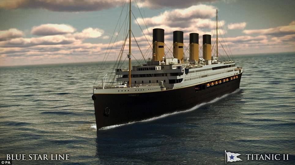 Titanic, sarà riprodotta la copia perfetta del famoso transatlantico
