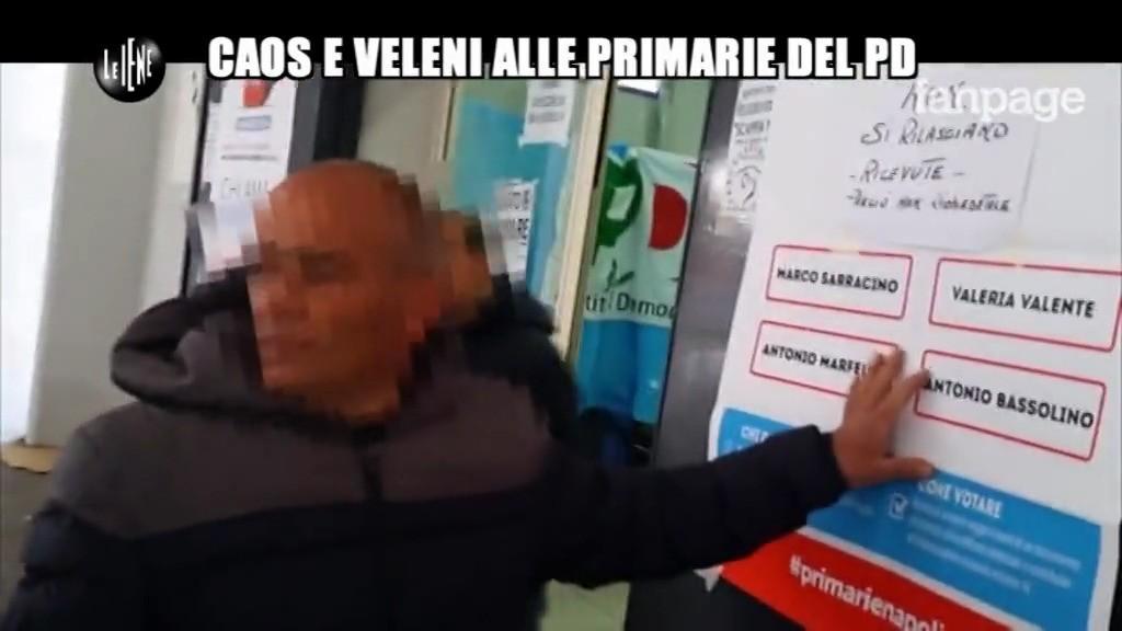 Giarusso: caos e veleni alle primarie PD a Napoli
