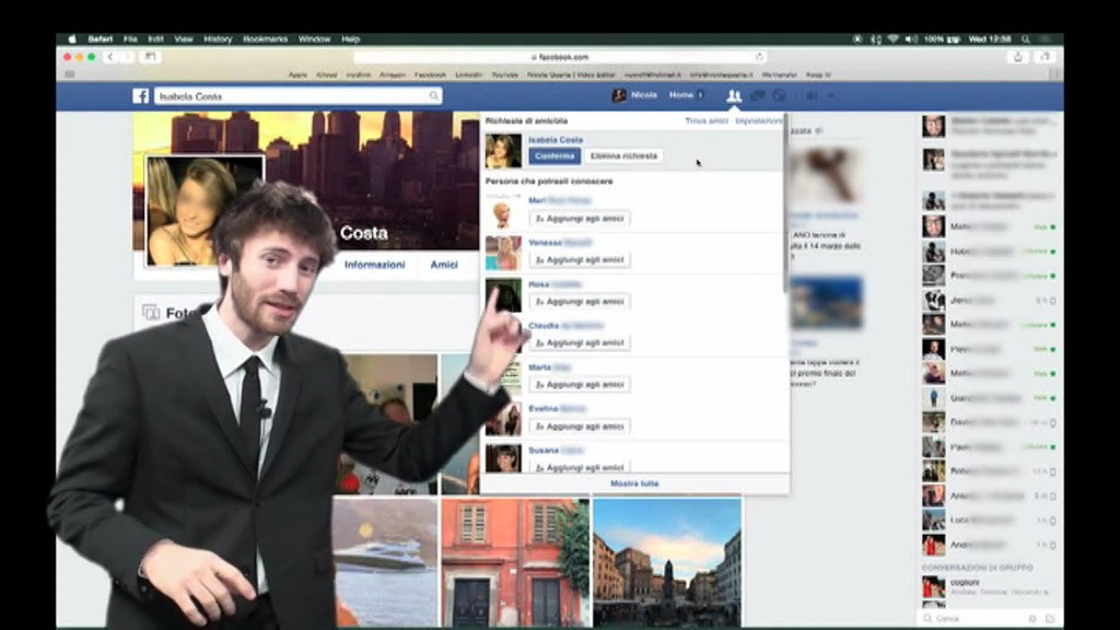 Falso profilo facebook: fate attenzione a questa persona