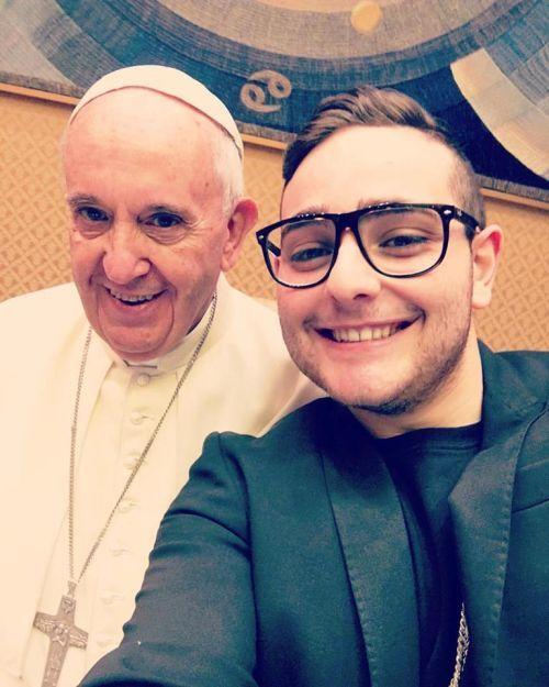 Rocco Hunt incontra Papa Francesco