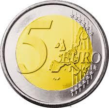 Da domani in Germania la nuova moneta da 5 euro