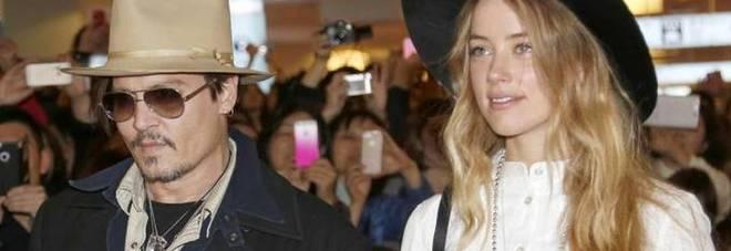 Jonny Depp, finita con Amber Heart, divorzio dopo 14 mesi di matrimonio