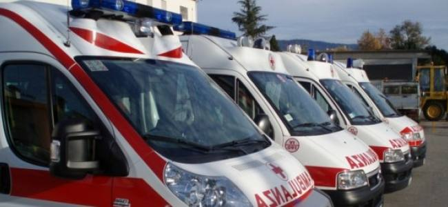 Ambulanze in nero legate al servizio del 118, video