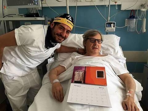 Vittorio Sgarbi ricoverato d'urgenza per il cuore
