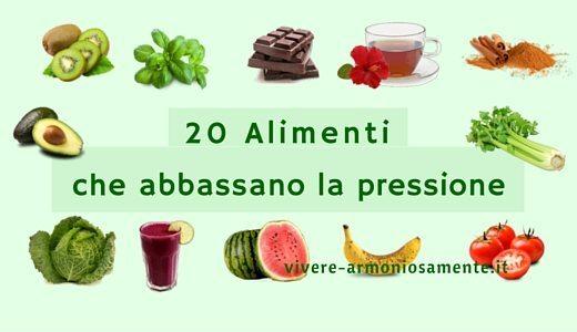 Gli alimenti che regolano la pressione arteriosa in modo naturale