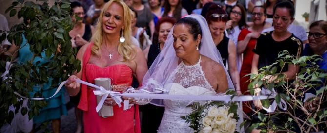 Finto matrimonio trans con duecento invitati, il sogno di Francesca (video)