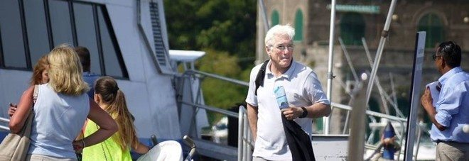 Richard Gere all'isola d'Ischia