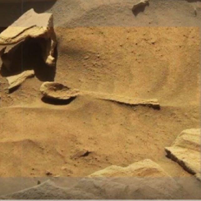 Alieni su Marte, un particolare choc di un video della Nasa