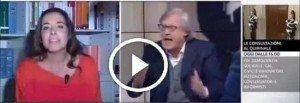 Rissa in diretta tv+Sgarbi+europarlamentare di forza Italia+Ronzulli+Sky 24+Berlusconi+Napoli+Lazio-Sambdoria+Roma+Inter
