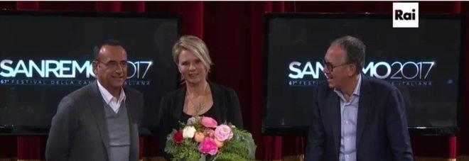 Maria De Filippi condurrà gratis il festival di Sanremo 2017