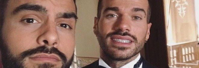 Trono gay, Claudio Sona e Mario Serpa sposi