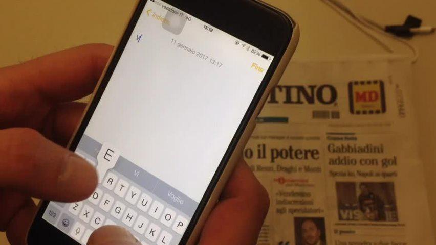 Vesuvio, L'iphone lava Napoli, ecco perchè