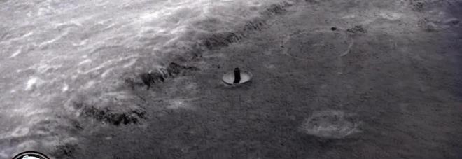 C'è una base ufo sulla Luna, le immagini della Nasa
