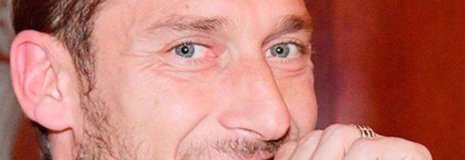 """Francesco Totti: """"Il mio ciuccio è per la donna che amo"""""""