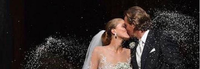 Matrimonio extralusso per l'erede Swarovski, 500mila cristalli sull'abito