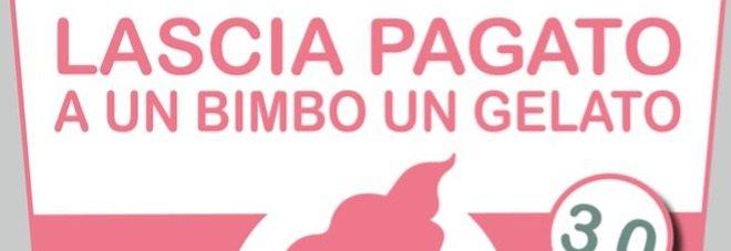 Gelato sospeso, un cono gratis per i bambini di tutta Italia