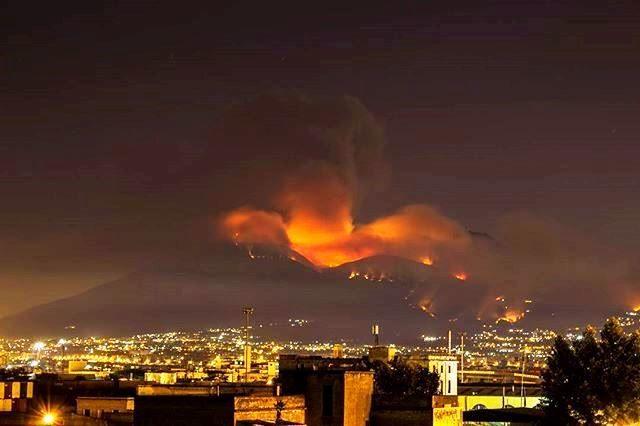 Vesuvio, ecco chi sono criminali che stanno provocando gli  incendi