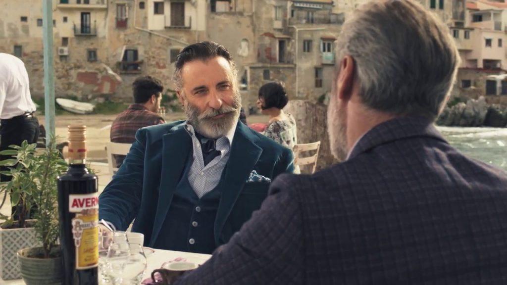 Andy Garcia sex symbol degli anni 90, come mai nella pubblicità dell'amaro Averna?