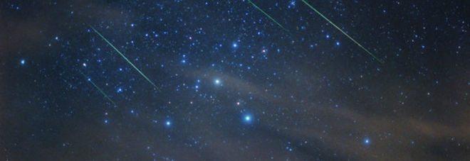 In arrivo il grande spettacolo delle stelle cadenti di ottobre