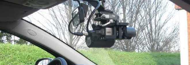 Vigili urbani multati dalla polizia stradale, con l'autovelox