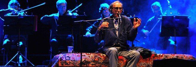 Brutto incidente per Franco Battiato, annullati tutti i suoi concerti.