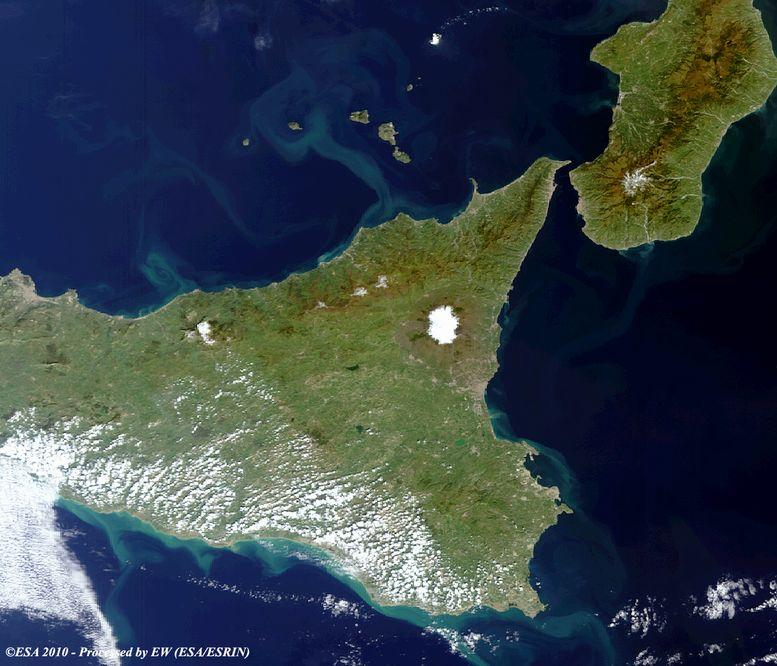 """Scoperta la """"finestra"""" nello Jonio che allontana la Sicilia dalla Calabria"""