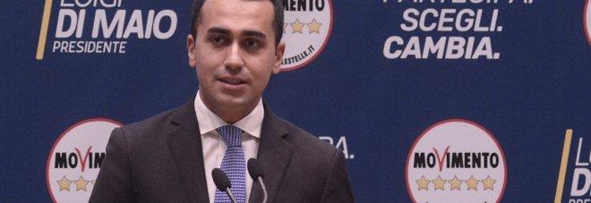 Luigi Di Maio oggi ha presentato le liste dei candidati del collegio uninominale