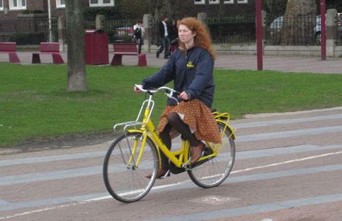 Le donne che pedalano hanno una vita più attiva sotto le lenzuola.