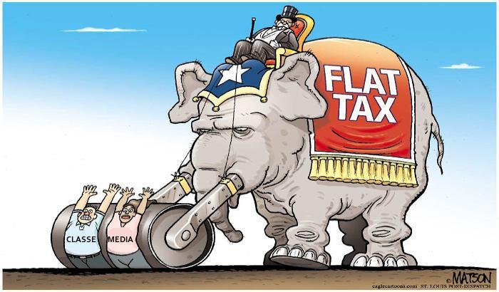 Ecco perchè vogliono la Flat tax, ecco perchè dovete votare M5Sunicasalvezza