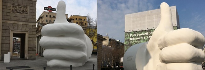 Il mistero di Milano, spunta un like gigante, il web vuole conoscere la verità.