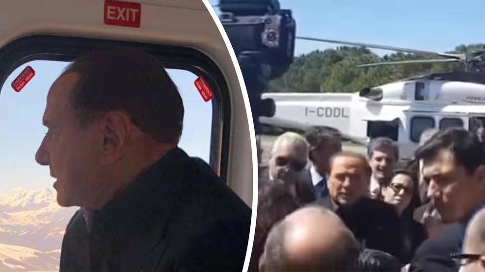 Le gaffes di Berlusconi a Termoli, all'incontro con una ragazza
