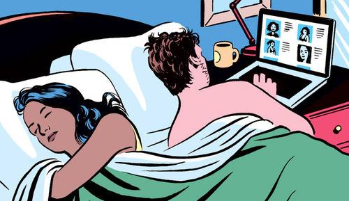 E' infedele il marito che cerca incontri on-line, lo stabilisce la Cassazione