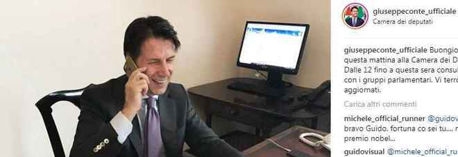 Conte spopola su social, ma attenzione al suo fake su twitter
