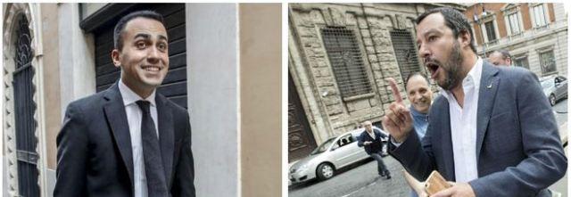 Salvini e DiMaio verso la terza repubblica finalmente, Berlusconi passo di lato