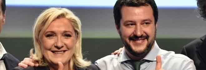 """Spese pazze per Salvini e Le Pen a Parigi: """"una cena da 401€ a testa!"""""""