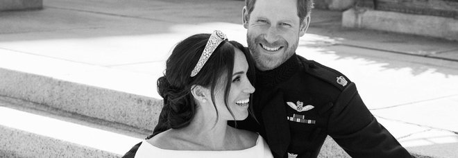 Royal Wedding, le prime foto ufficiali di Harry e Meghan.