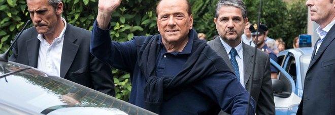 Berlusconi ricoverato per esami  e accertamenti al San. Raffaele