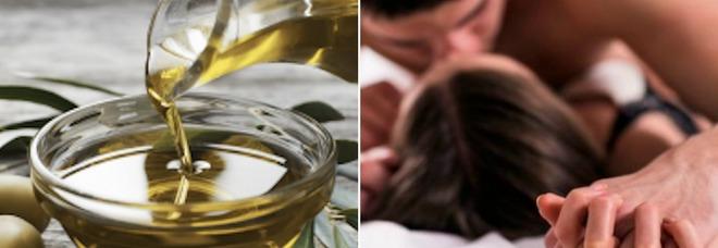 L'olio d'oliva meglio del Viagra, ecco quanti cucchiai assumere.