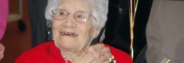 Nonna Assunta la donna più anziana d'Italia, 116 anni