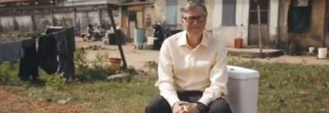 Bill Gates, ecco il wc del futuro che salverà milioni di vite, senza acqua e fogne.