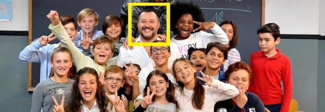 """Salvini interrogato dai bambini su Rai 3, polemica sui social, qualcuno ha detto: """"Propaganda!"""""""