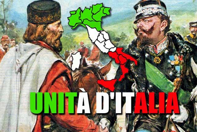 """Il bel paese ai tempi dell'""""Unità d'Italia"""", per le opposizioni abbaianti."""