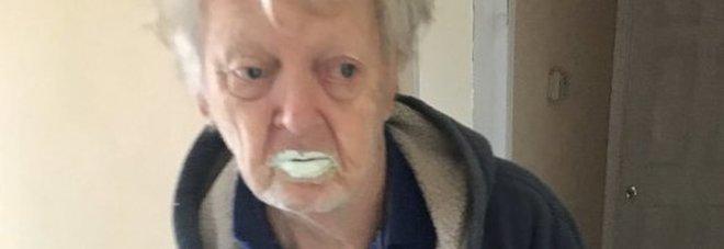 Nonnino di 90 anni mangia mezzo barattolo di vernice credendo fosse yogurt