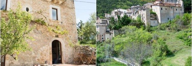 Lotteria, comprare una casa, gran sasso, Abruzzo, Carapelle Calvisio, borgo medioevale, appennino, compra casa