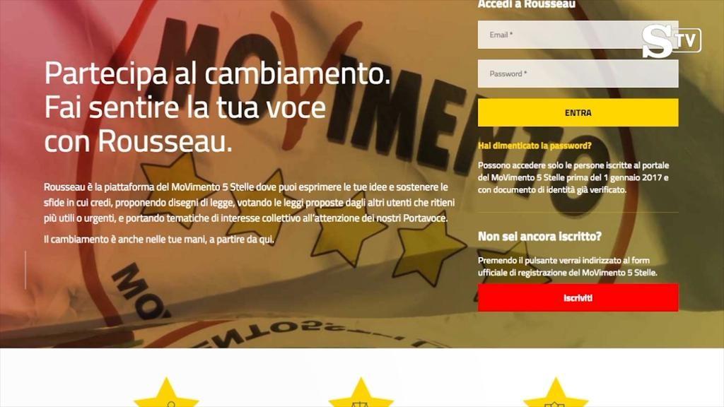 M5S: manomissione piattaforma Russeau in occasione delle votazioni