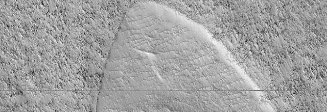 Su Marte spunta in simbolo di Star Trek, la scoperta della Nasa.